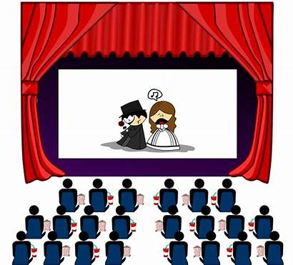 Theater Clip Clipart Transparent Theatre Play Hall