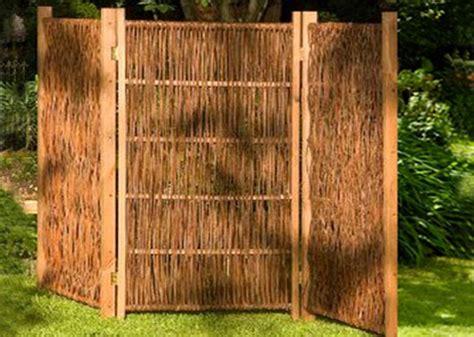 Paravent Holz Garten by Holz Paravent Garten Paravent F R Garten 15 Ideen F R