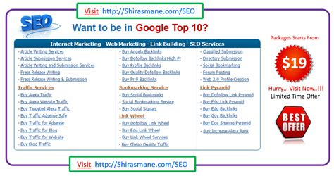Seo Packages by Cheap Seo Packages India Uk Usa Canada Germany Australia