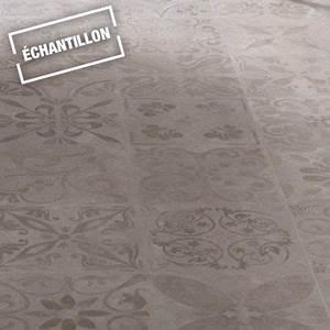 Echantillon sol stratifie novofloor effet carreaux ciment for Porte d entrée pvc avec parquet stratifié pour salle de bain