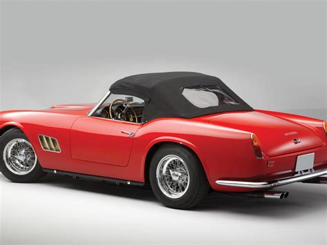 1961 250 Gt California For Sale by Rm Sotheby S 1962 250 Gt Swb California Spyder