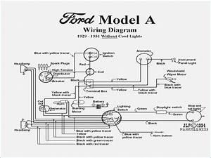 Model A Ford Wiring Diagram  U2013 Vivresaville Com