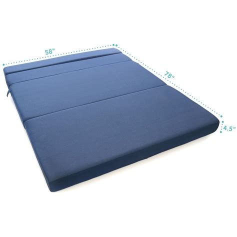 Trifold Foam Bed by Tri Fold Foam Folding Mattress Sofa Bed Dudeiwantthat