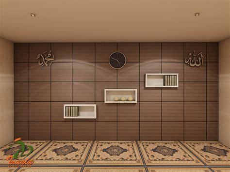 desain mushola minimalis  rumah pekanbaru interior