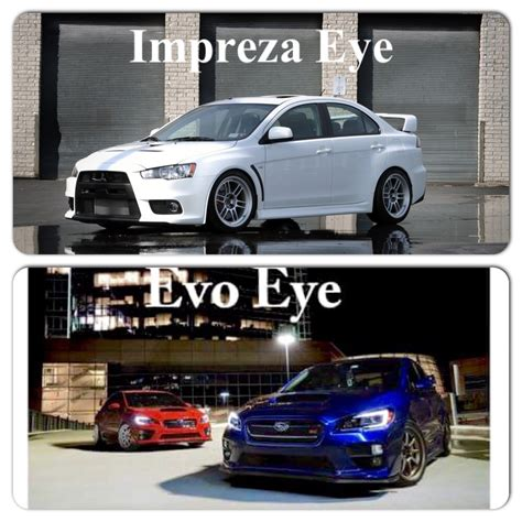 subaru eyes if u think we should call the new subaru evo eye well