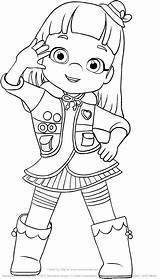 Ruby Rainbow Coloring Mewarnai Drawing Gambar Dash Pages Printable Da Pony Di Kartun Greets Max Disimpan Dari sketch template