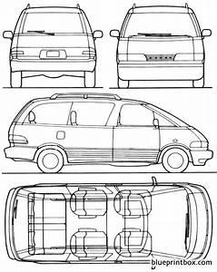 Toyota Previa 1993 Plans