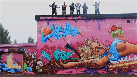 Graffiti Adalah : Kota Dengan Keindahan Graffiti Yang Mendunia