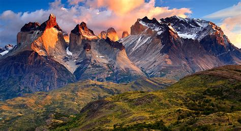 In Patagonia Itinerary And Map Wilderness Travel