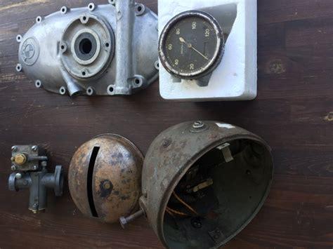 Kettenkrad, Bmw R75, R12, R11