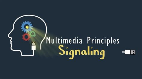 The Signaling Principle - Wisc-Online OER