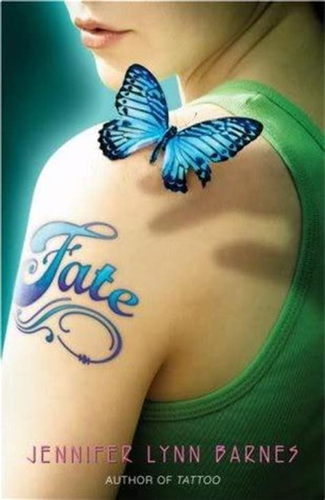 fate tattoo   jennifer lynn barnes