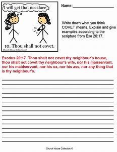 Thou Shalt Not Covet Sunday School Lesson