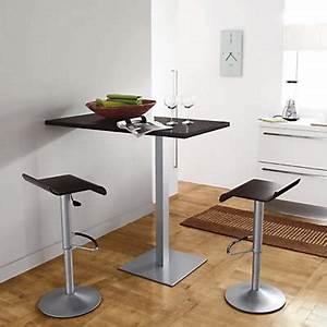 Table De Cuisine Haute : table de cuisine haute chaise de table maisonjoffrois ~ Dailycaller-alerts.com Idées de Décoration
