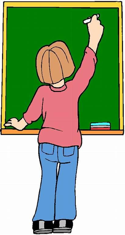 Clipart Blackboard Clip Chalkboard Clean Bambini Clipartgratis