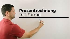 Darlehensbetrag Berechnen Formel : prozentrechnung mit formel p w und g hilfe in mathe einfach erkl rt mathe by daniel jung ~ Themetempest.com Abrechnung