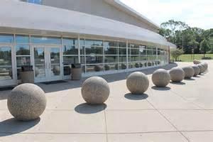 Concrete Sphere Bollards