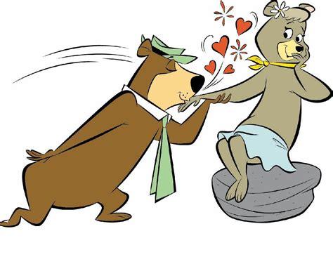 Yogi Bear And Cindy Bear