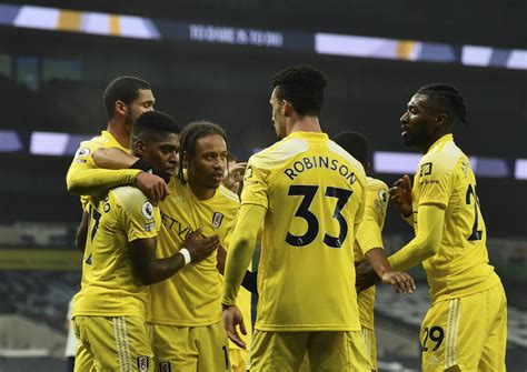 Tottenham held to 1-1 draw by Fulham in Premier League ...