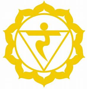 3rd - The Solar Plexus Chakra. Manipura chakra, located ...