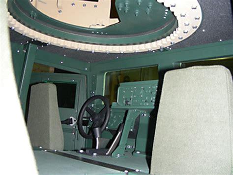armored humvee interior gamla model makers hmmwv 1 4 scale model interior