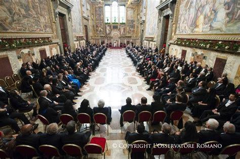 siege du pape voeux du pape françois au corps diplomatique près le