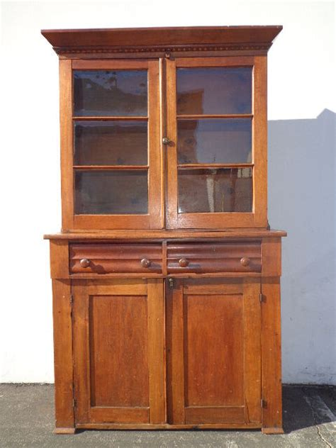 Sideboard And Hutch Furniture by Antique 1850 Hutch Cabinet Sideboard Primitive Shaker