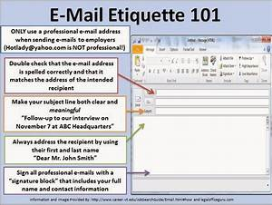oakland university career services e mail etiquette 101 With email etiquette template
