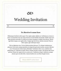 new wedding invitation wording in email wedding With how to write wedding invitations email