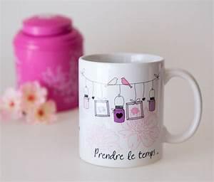 Idée Cadeau Cuisine : mug prendre le temps id e cadeau mug d cor ~ Melissatoandfro.com Idées de Décoration
