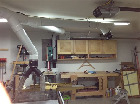 dust collection wood shop blog