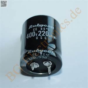 Schaltkreise Berechnen : 1 x 220 f 220uf 400v 85 snap in rm10 elko kondensator ~ Themetempest.com Abrechnung