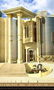 Villa Exterior Design, Abu Dhabi Algedra interior design ...
