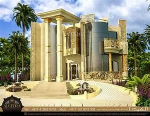 Villa, Exterior, Design, Abu, Dhabi, Algedra, Interior, Design