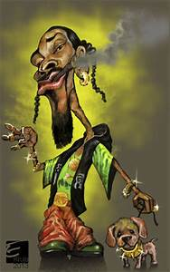 Snoop dogg By elidorkruja | Famous People Cartoon | TOONPOOL