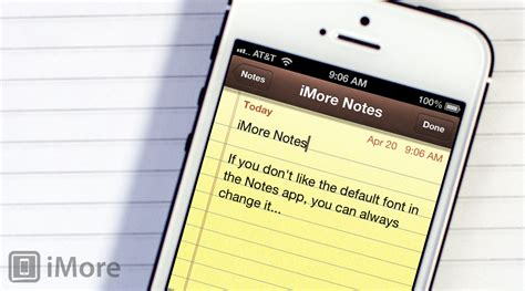 iphone notes app how to change the default font in the notes app for iphone