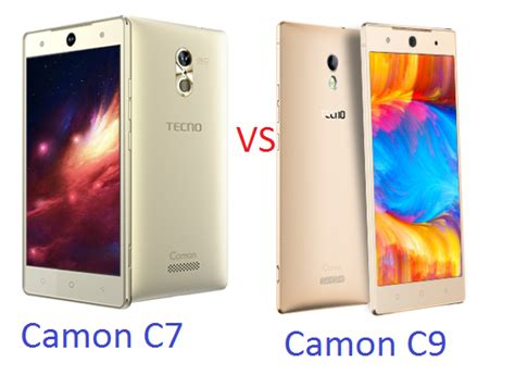 what is the difference between c7 and c9 light bulbs tecno camon c7 and camon c9 the similarities and