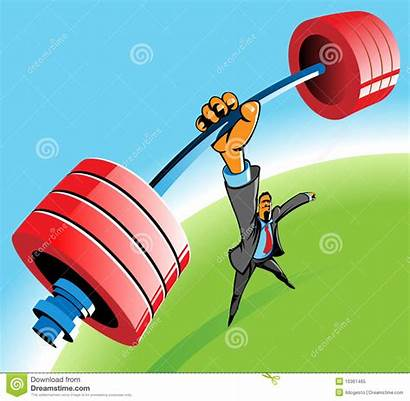 Powerful Clipart Clip Illustration Vector Royalty Lifting