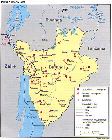 burundi maps perry castaneda map collection ut library