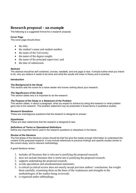 Simple Research Proposal Example Internet Assignments For Students