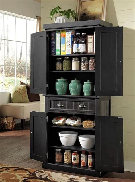 pantry cabinet kitchen outline