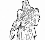 Gauntlet Infinity Coloring sketch template