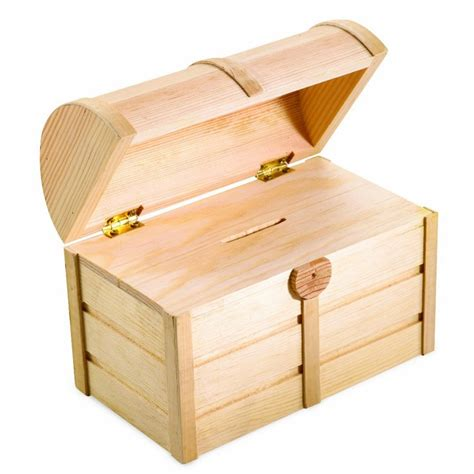 kids woodworking building set treasure chest