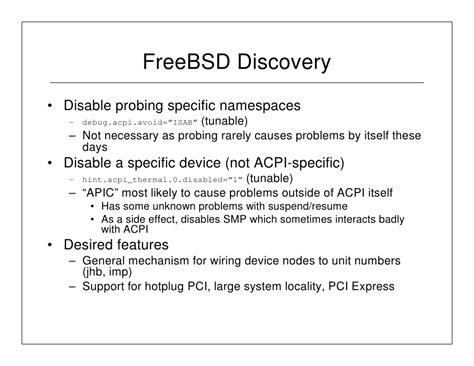 acpi and freebsd part 2