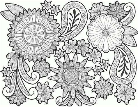 Paisley Coloring Pages Free Printable - Coloring Home