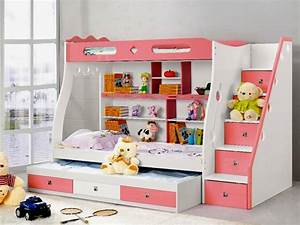 Bunk Beds With Desk For Girls Bunk Bed With Desk And ...