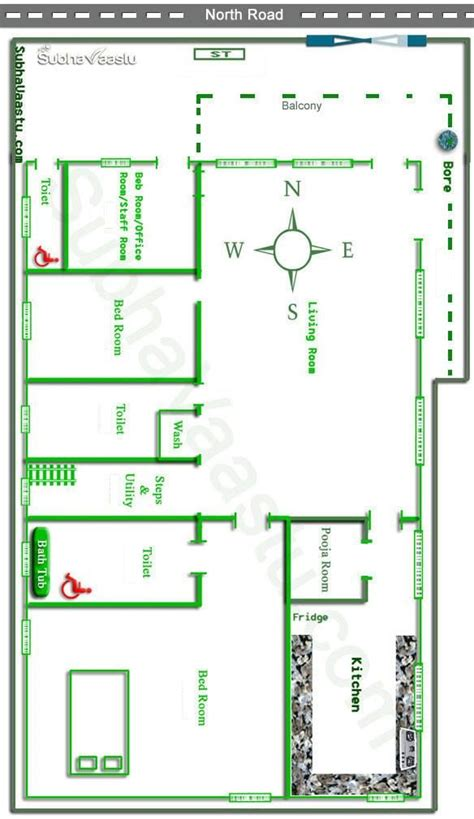 image result  north facing house plan north facing house house layout plans vastu house