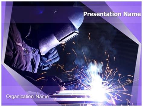 welding electrodes powerpoint template background