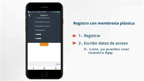 Tutorial Registra Membresía En La App Vrim