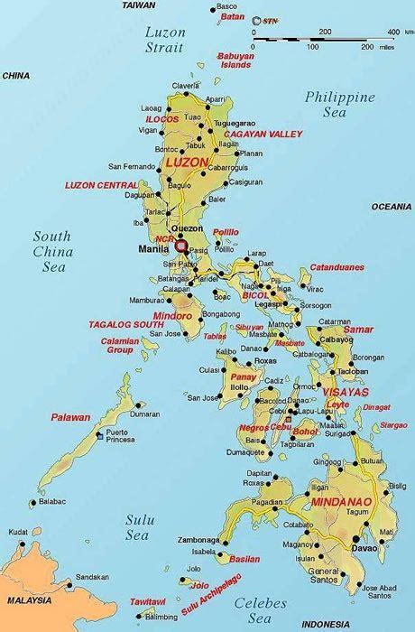 maps  philippines